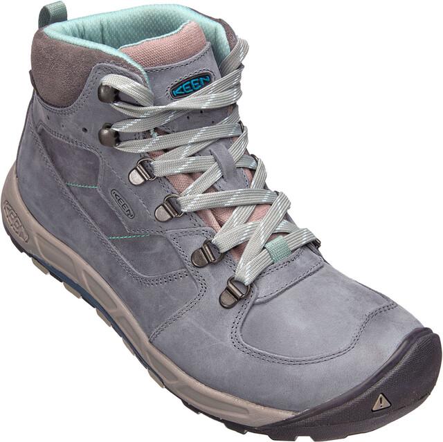 Keen W's Westward Leat WP Mid Shoes turbu/storm wea